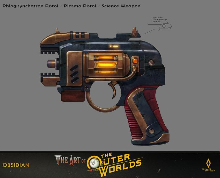 The art of The Outer Worlds 133