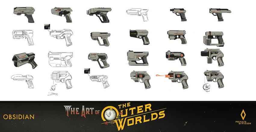 The art of The Outer Worlds 132