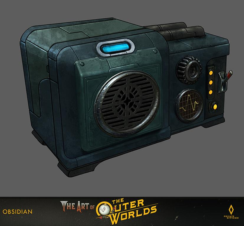 The art of The Outer Worlds 136