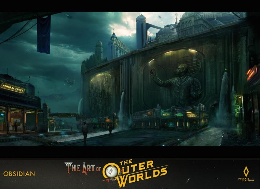 The art of The Outer Worlds 140