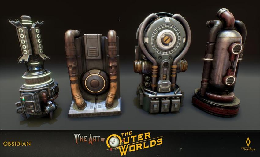 The art of The Outer Worlds 116