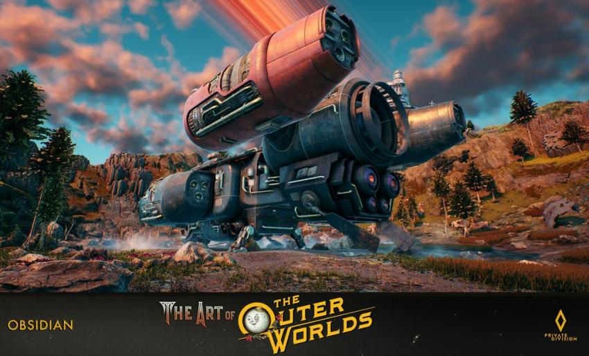 The art of The Outer Worlds 122