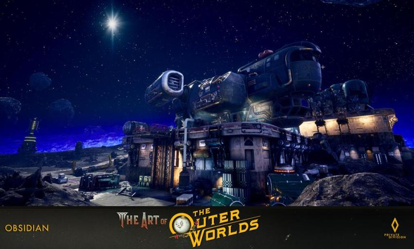 The art of The Outer Worlds 128