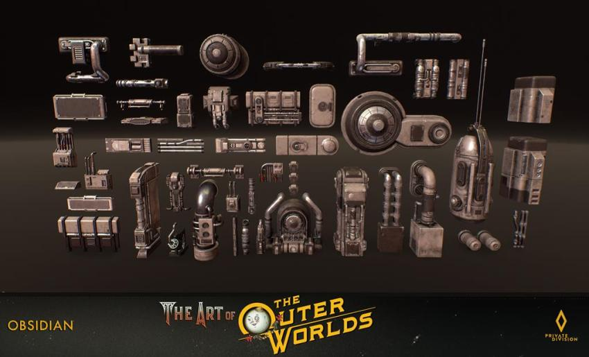 The art of The Outer Worlds 115