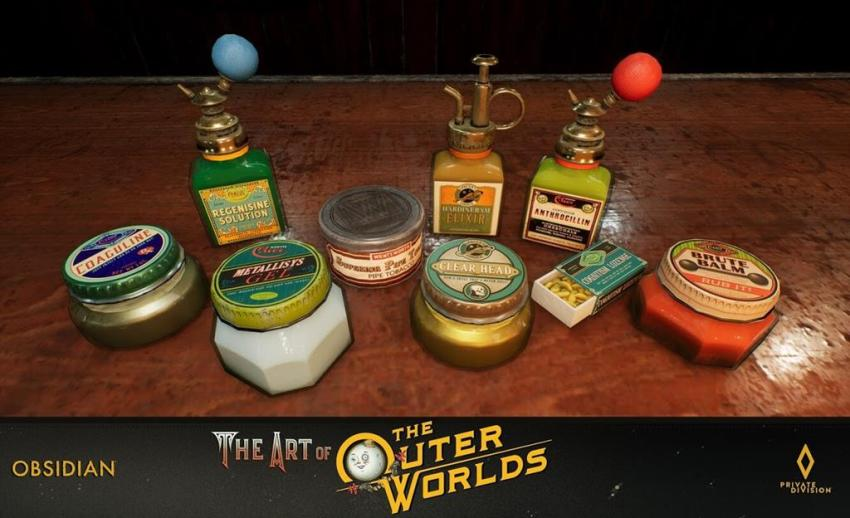 The art of The Outer Worlds 174