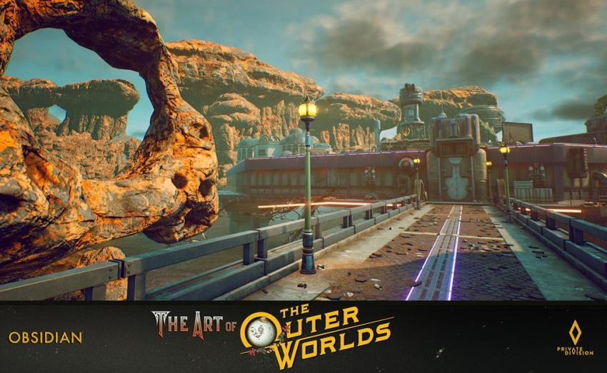 The art of The Outer Worlds 96