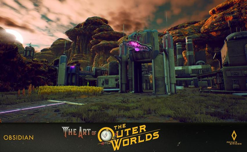 The art of The Outer Worlds 91