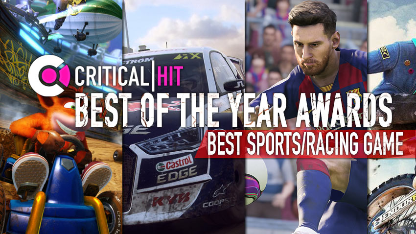 The Critical Hit Best of the Year Awards 2019 - Best sports/racing game 7