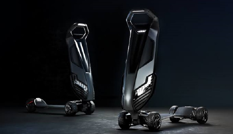 Forget the e-scooter, meet the Hyperscooter 4