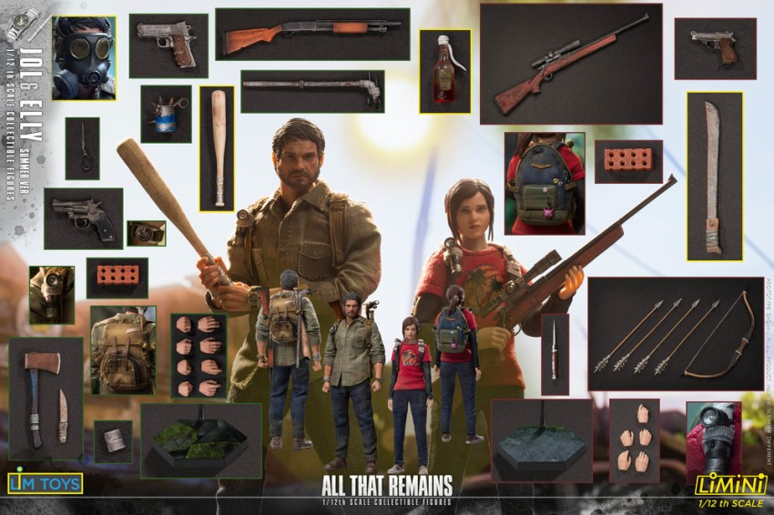 These Jol and Elly 1/12 scale All That Remains figures are just too adorable for the post apocalypse 19