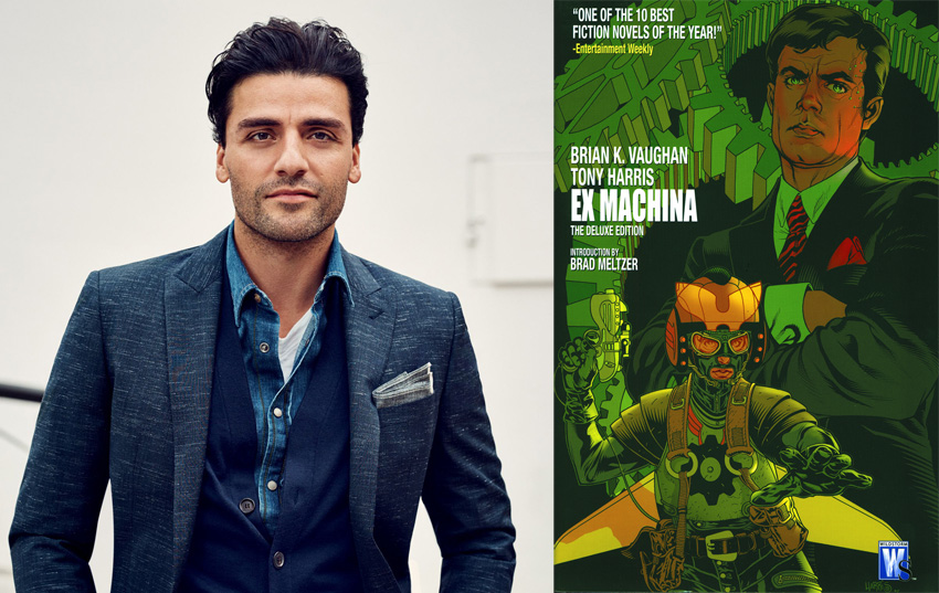 Oscar Isaac to lead adaptation of Brian K. Vaughan's Ex Machina 3