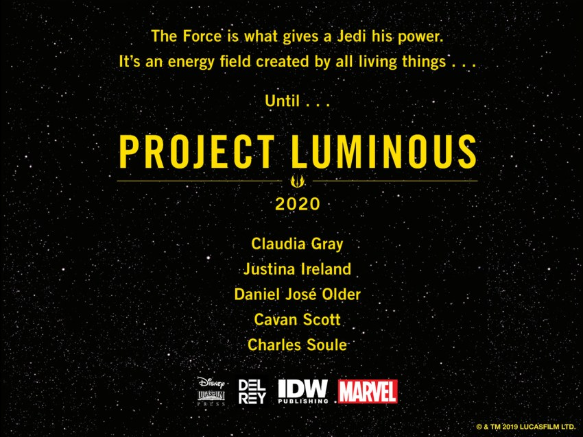 """Rumour: Star Wars future plans revealed, could tie into mysterious """"Project Luminous"""" 7"""