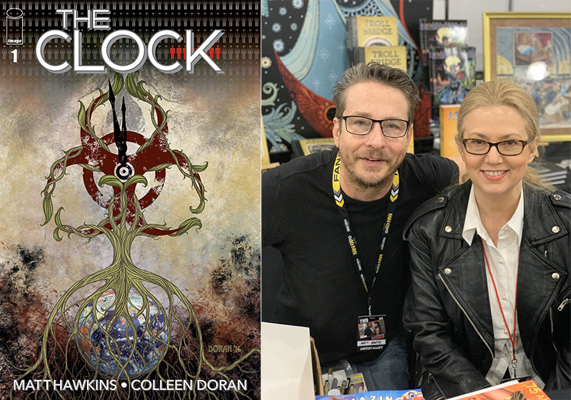 The Clock – Time to worry about weaponised cancer in this intriguing comic 5