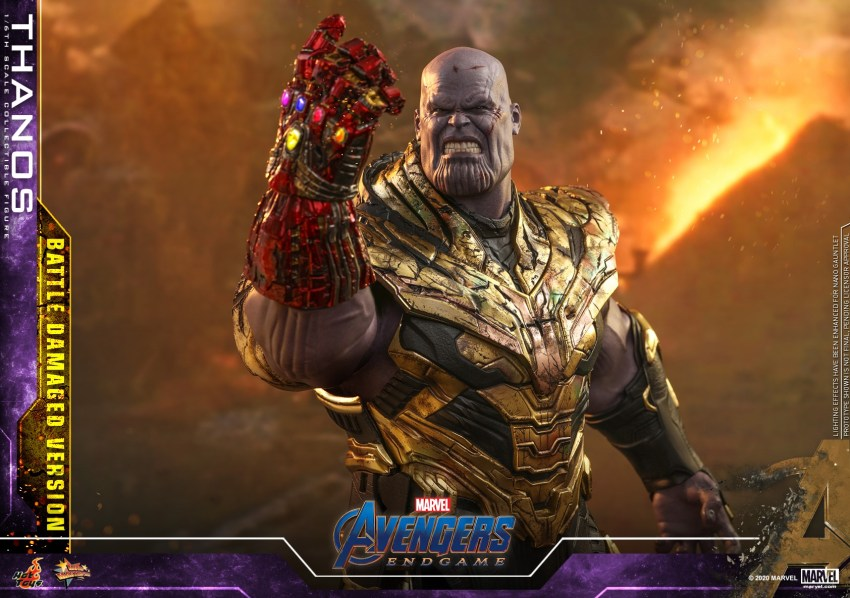 Hot Toys' latest Thanos figure is very worried that he might not survive Avengers: Endgame 30