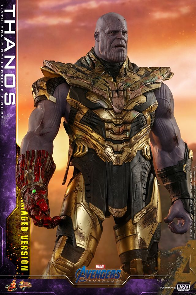 Hot Toys' latest Thanos figure is very worried that he might not survive Avengers: Endgame 31