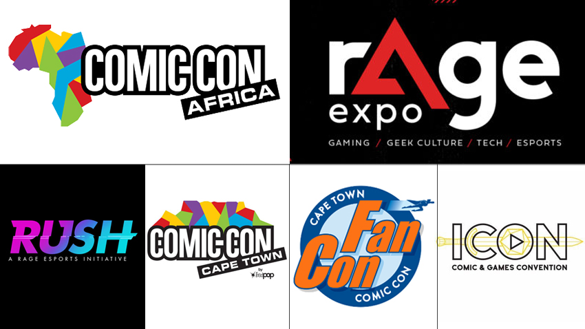 South Africa's 2020 gaming and geek con calendar 1