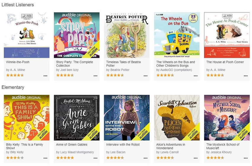 Amazon makes a bunch of streaming children's shows, audiobooks free for everyone amid Covid-19 lockdowns 5