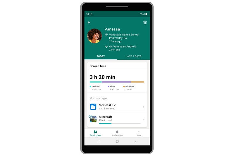 Microsoft launches its Family Safety app for preview 3