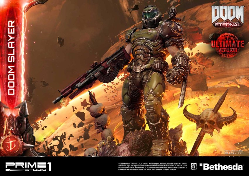 This $2400 DOOM Eternal Doom Slayer statue from Prime 1 is ready to rip and tear 33