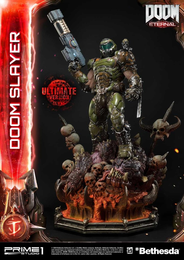 This $2400 DOOM Eternal Doom Slayer statue from Prime 1 is ready to rip and tear 37