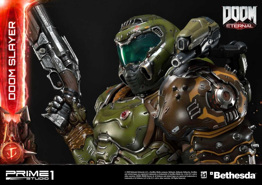 This $2400 DOOM Eternal Doom Slayer statue from Prime 1 is ready to rip and tear 45