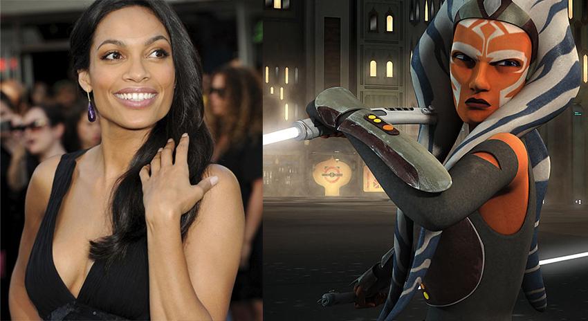 Mandalorian season 2 reportedly casts Rosario Dawson as Ahsoka Tano 2
