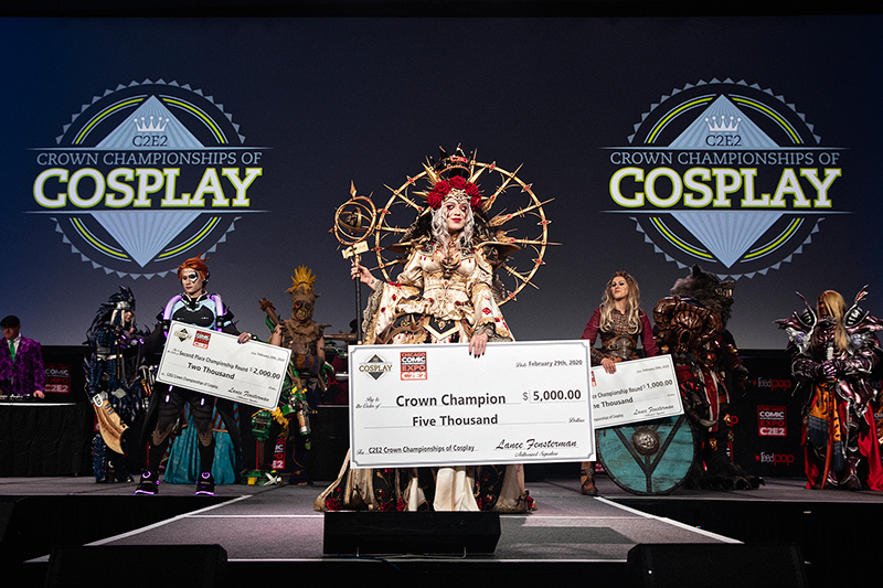 South African JinxKittie is the global Crown Champion of Cosplay 4