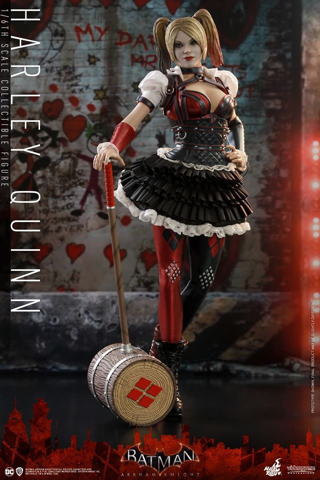 Hot Toys Harley Quinn is ready to paint the town red 29