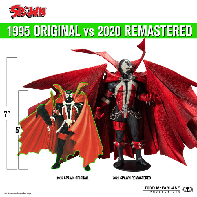 Todd McFarlane is bringing the original Spawn action figure back to life on Kickstarter 33