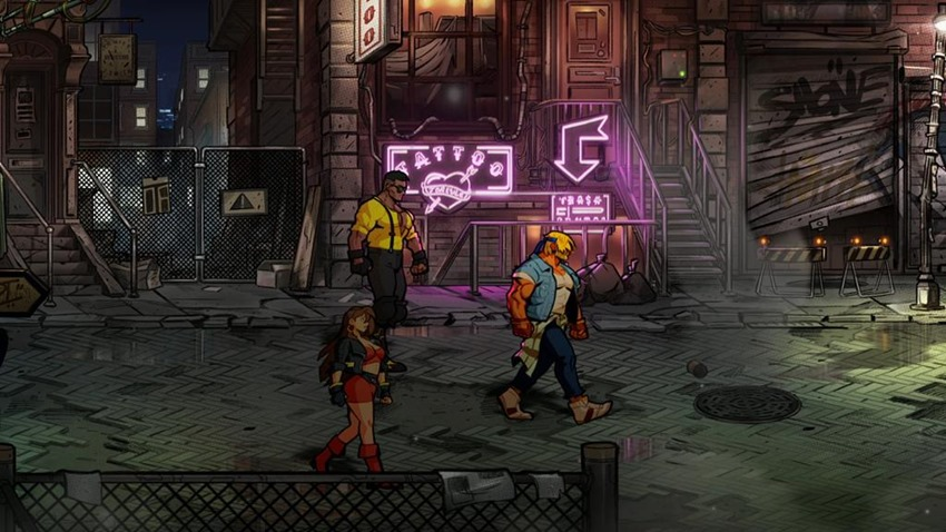 Streets of Rage 4 adds a gloriously retro soundtrack and pixelated fighters from previous games 4