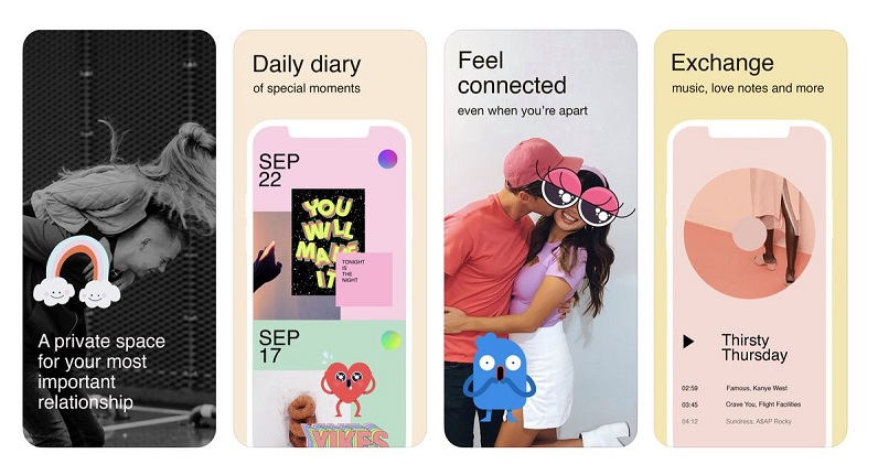 Facebook launches a new app to keep couples connected 3