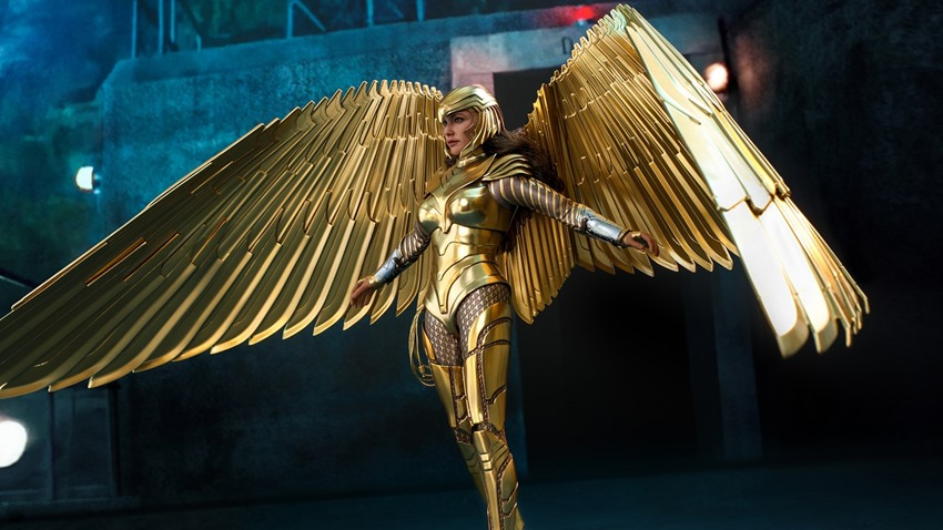 Hot Toys Wonder Woman 1984 is ready to soar like a majestic golden goddess 1