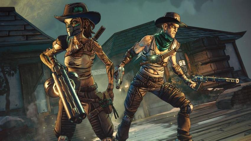 You can ride a badass Velociraptor with guns in the third Borderlands 3 expansion, Bounty of Blood 10