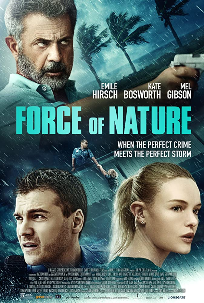 Mel Gibson fights thieves and a hurricane in the action thriller Force of Nature 4