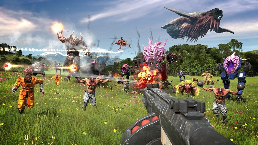 Serious Sam 4 is seriously out in August on Steam and Stadia - Critical Hit