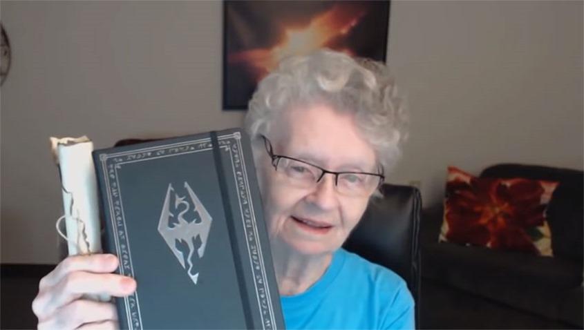 Skyrim Grandma is taking a break from streaming thanks to relentless internet armchair critics 5