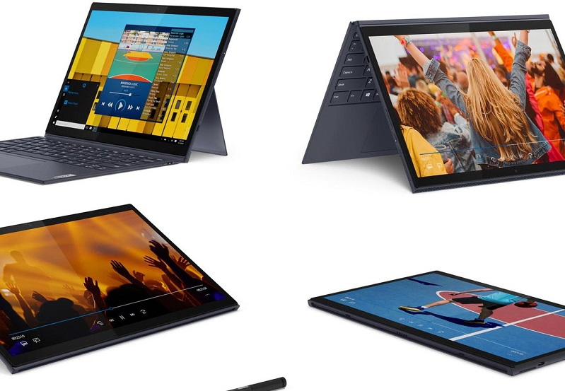 Lenovo announces two new tablet laptops with Bluetooth keyboards 3