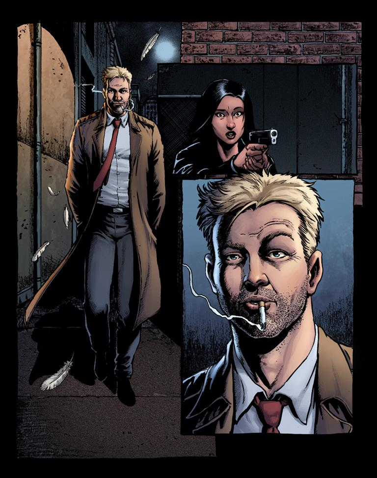 John Constantine is taking on the rich and the powerful in Hellblazer: Rise and Fall 7