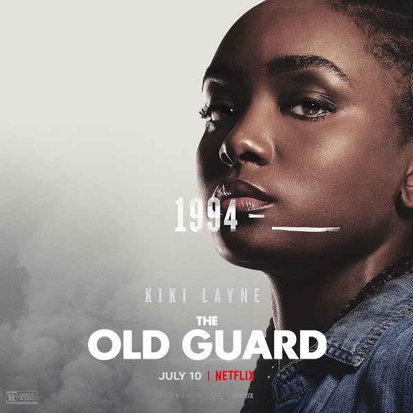 Meet The Old Guard in these new character posters and clips for Netflix's upcoming film 9