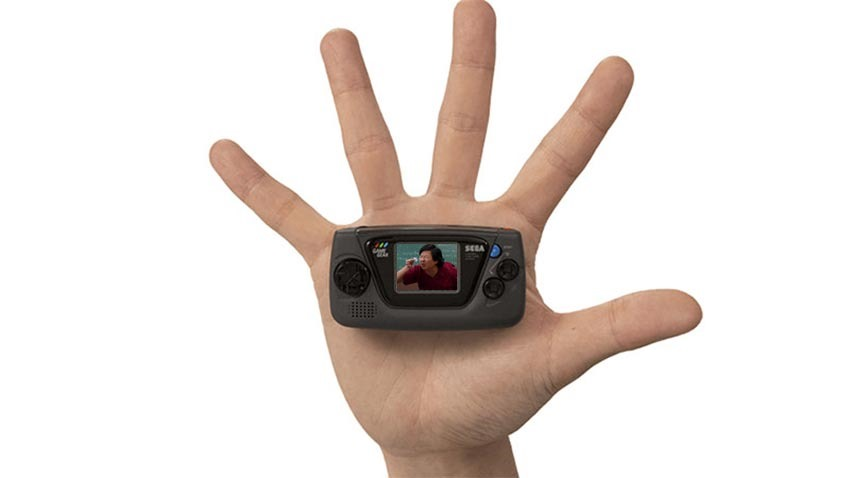 Even Sega Thinks the New Game Gear Micro's Screen Is Too Small