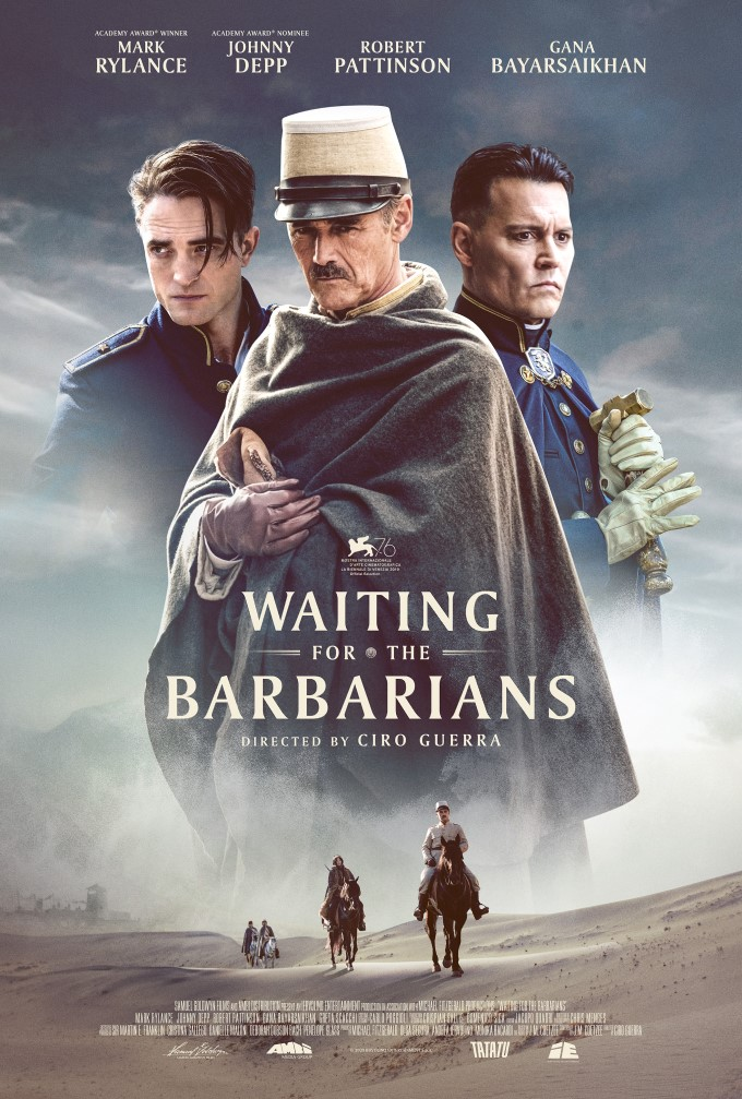 Mark Rylance and Johnny Depp lead J. M. Coetzee's Waiting for the Barbarians 4
