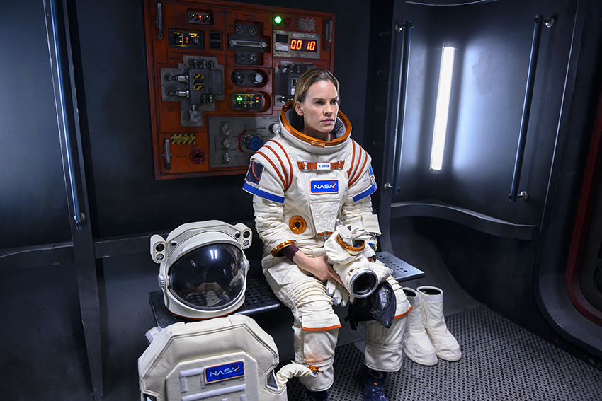 First look teaser trailer and images for Away - a new Netflix drama... in SPACE 13