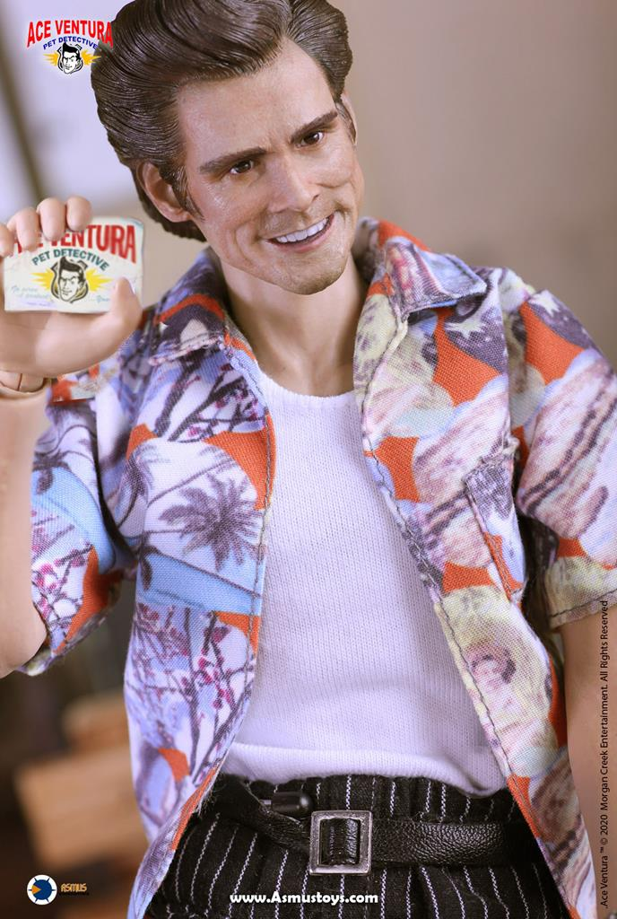 This Ace Ventura collectible toy is pure nightmare fuel 12