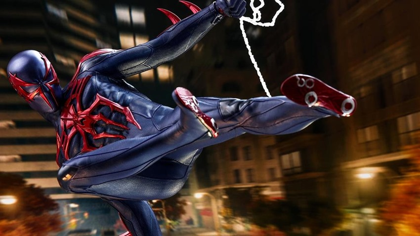 Spider-Man 2099 is finally getting a spectacular Hot Toys figure 1