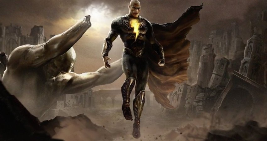 DC FanDome: Dwayne Johnson's Black Adam brings the thunder (and the JSA!) in first look 16