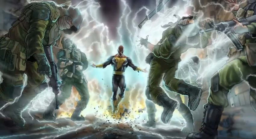 DC FanDome: Dwayne Johnson's Black Adam brings the thunder (and the JSA!) in first look 21