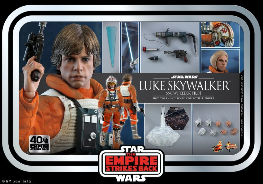 Hot Toys Luke Skywalker sadly doesn't include a severed Wampa arm in the package 34
