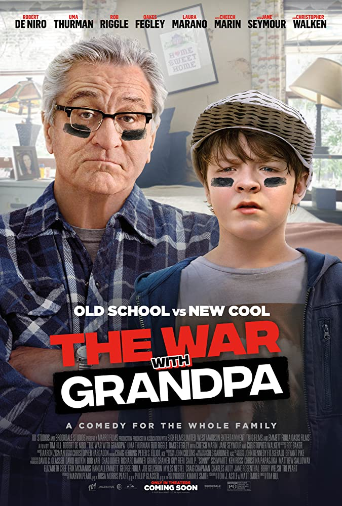 Robert De Niro won't go down without a fight in the family comedy The War with Grandpa 4
