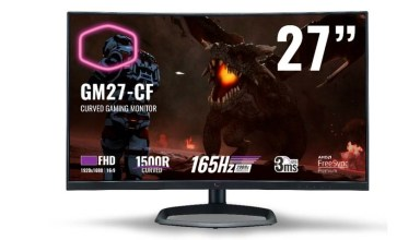 Cooler Master's new curved gaming monitors are coming to South Africa 1