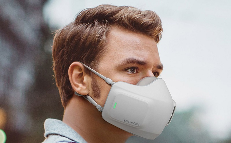 LG has made a mask that allows you to breath in purified air 3